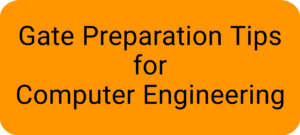 Preparation Tips for Computer Engineering
