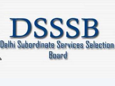 DSSSB JE Recruitment
