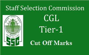 SSC CGL TIER 1 Cut off