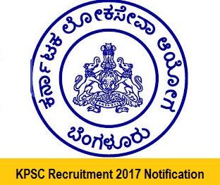 KPSC fda sda recruitment 2017-18