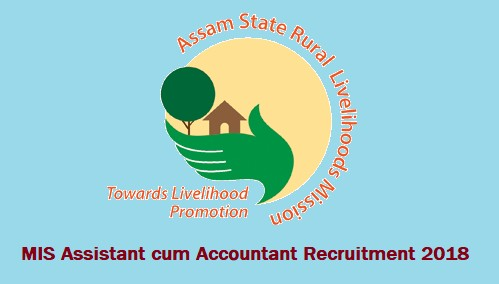 ASRLMS MIS Assistant cum Accountant 2018