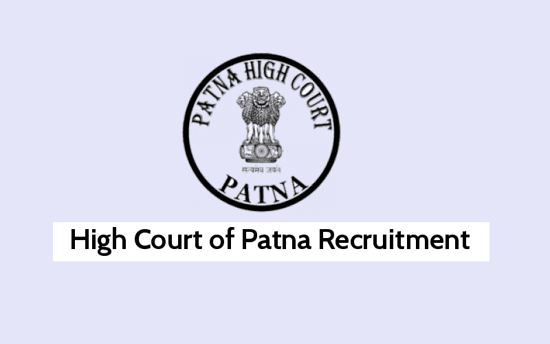 Patna High Court General Mazdoor Posts Apply