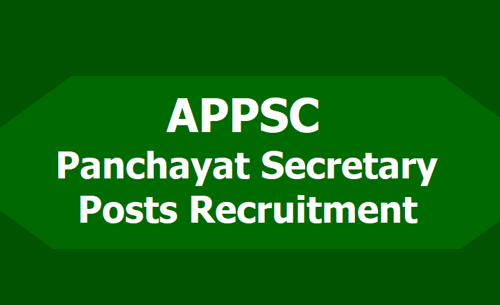 AP Panchayat Secretary Salary and Job Profile 2019