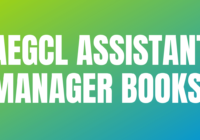 AEGCL Assistant Manager Books