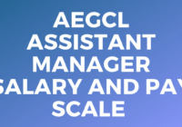 AEGCL Assistant Manager Salary and Pay Scale