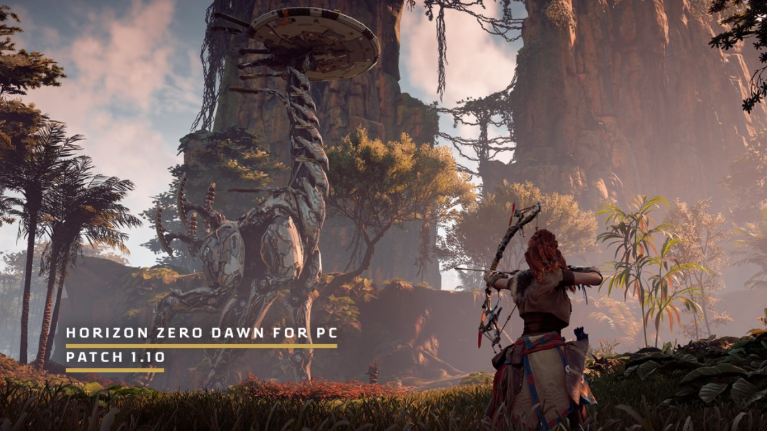 horizon zero dawn hotfix 1.10