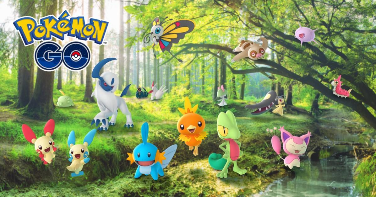 pokemon go hoenn celebration event