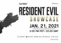 resident evil showcase january