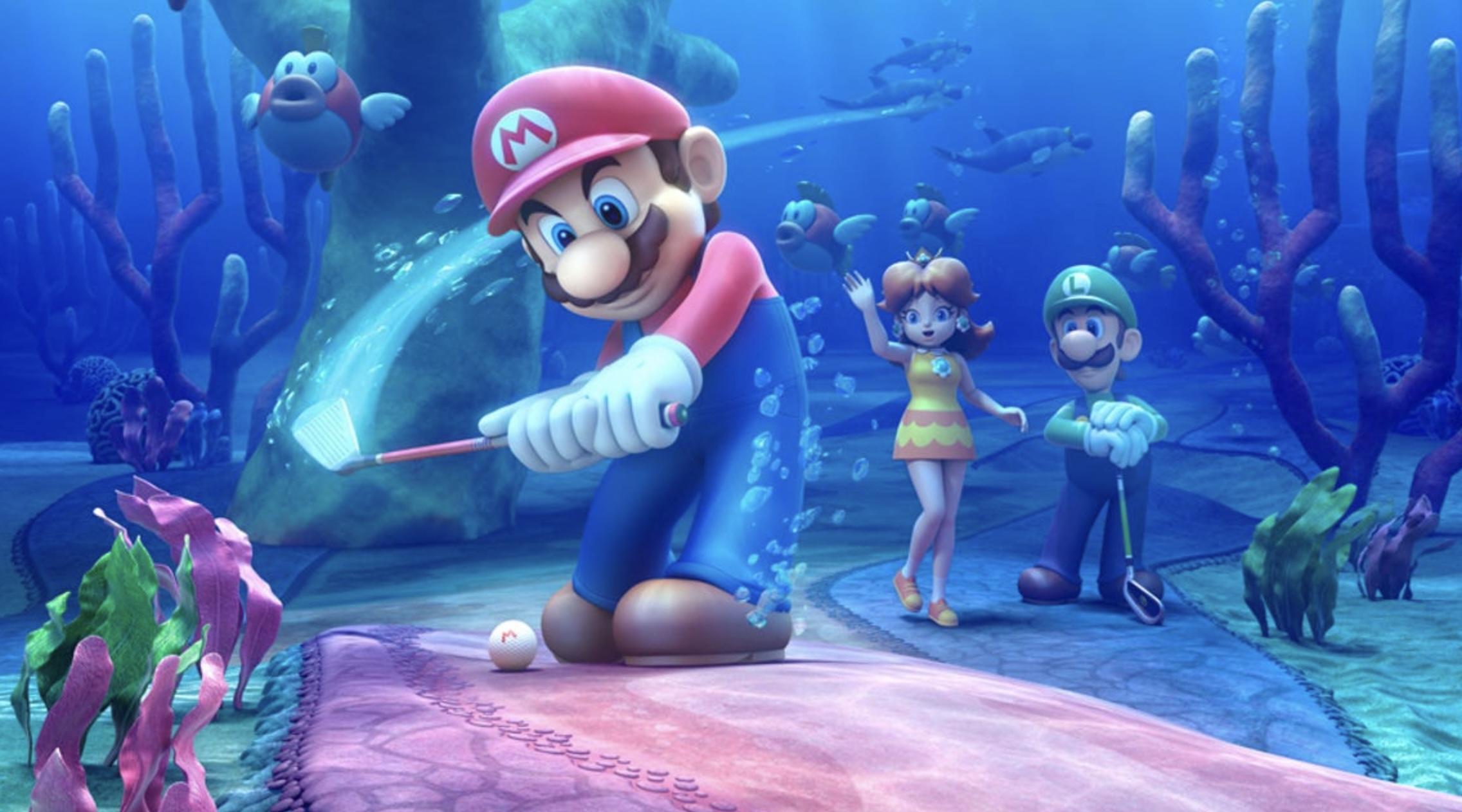 Mario Golf Super Rush Release Date