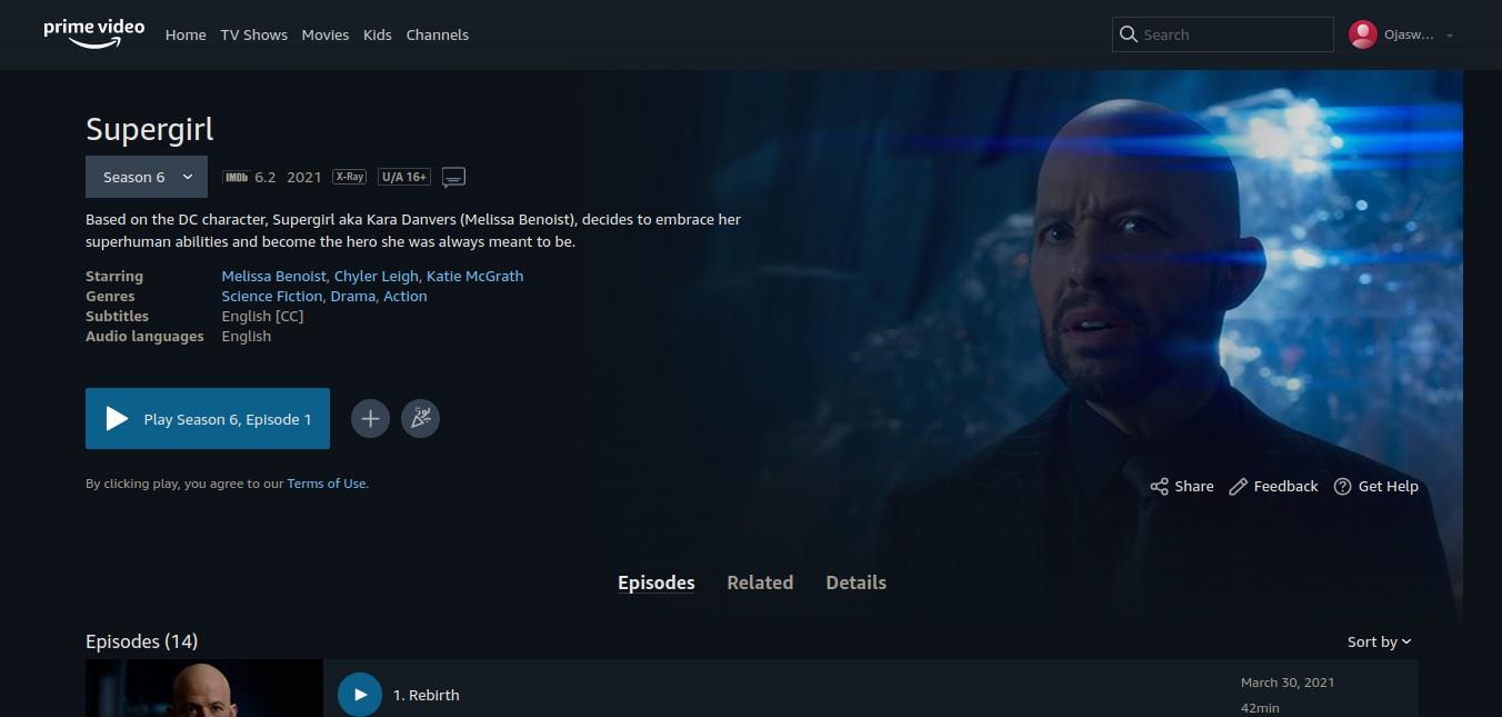 Supergirl Season 6 Episode 16 Release Date